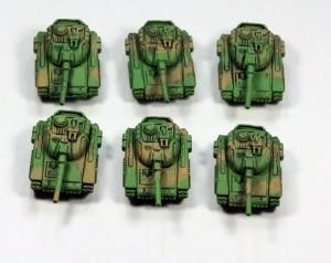 Opfor MBT Group (Gun)
