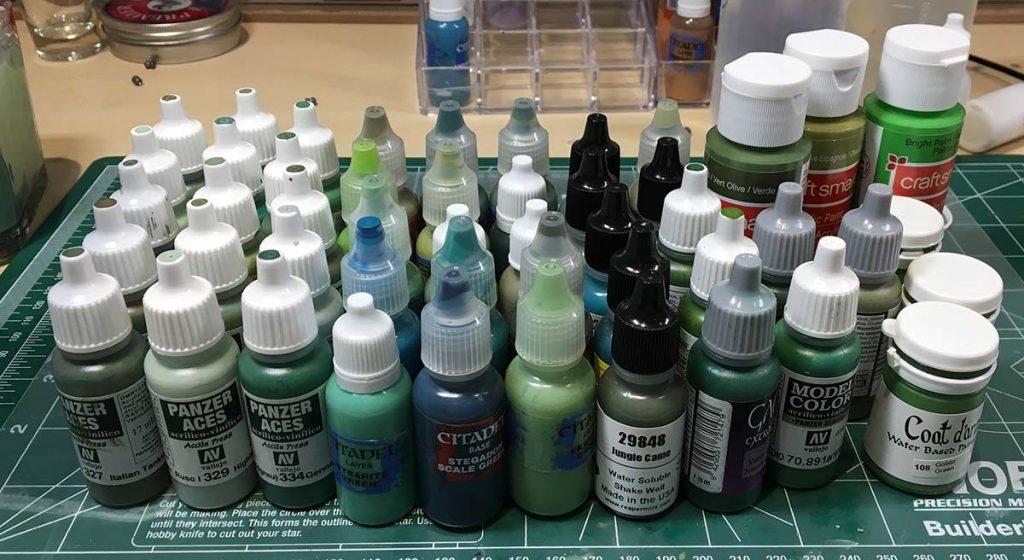 Green Paints